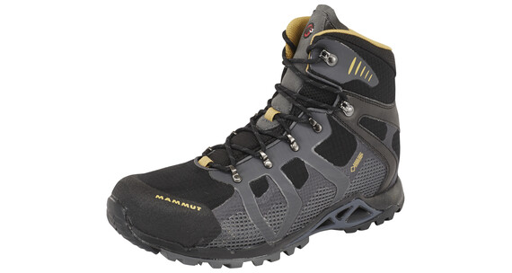 Mammut Comfort High GTX Surround Shoes Men black-graphite